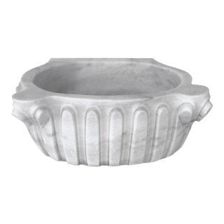 Antique Marble Hamam Sink | Ornate Marble Vessel Sink For Sale