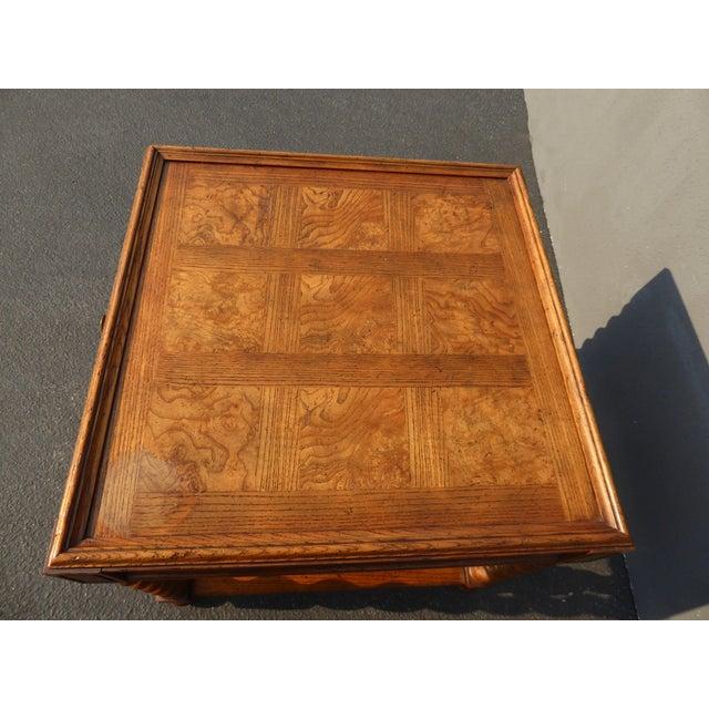 Baker Furniture Barley Twist Cane Shelf End Table ~ Side Table For Sale - Image 10 of 13