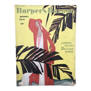 Harper's Bazaar Magazine, January 1930