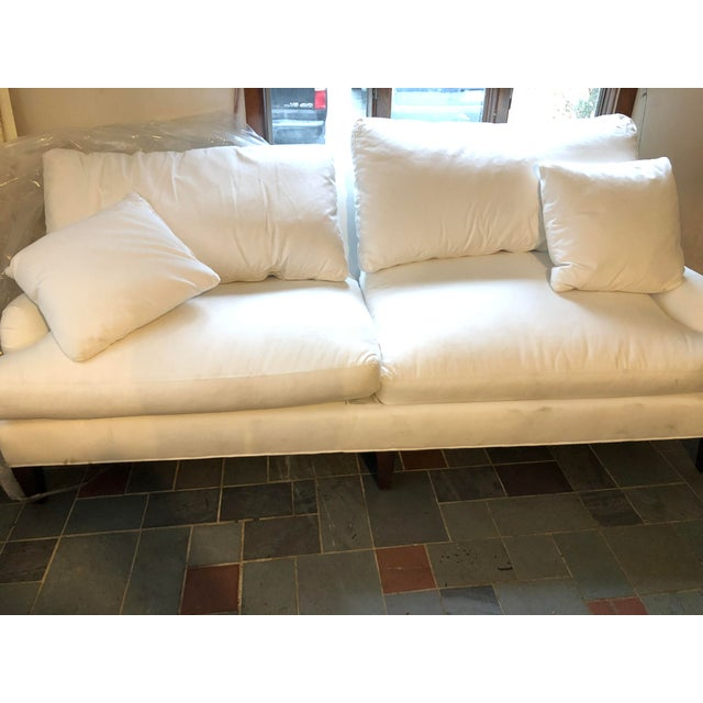 Crate & Barrel Essex Ruffin Sofa by Crate and Barrel For Sale - Image 4 of 12