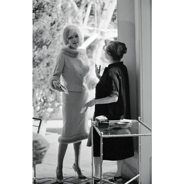 """""""Marilyn Monroe in a Suit"""" Photograph by Lawrence Schiller, 19/75 For Sale"""