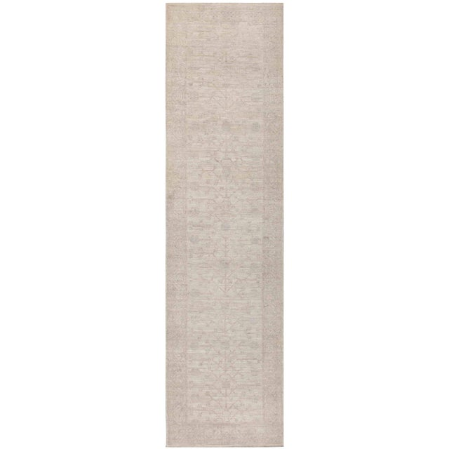 Pasargad N Y Khotan Hand Knotted Rug - 3' X 11' For Sale