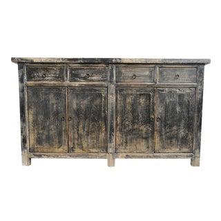 Black Rustic Sideboard