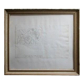 1947 Pablo Picasso La Fosse Commune Etching