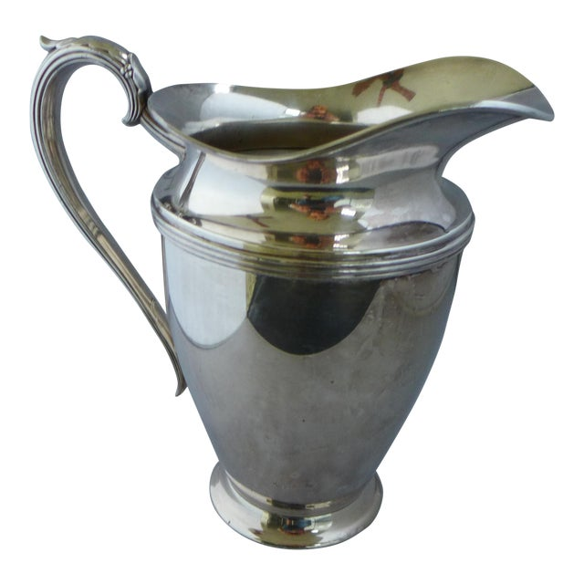 Lynton Silver-Plate Water Pitcher For Sale