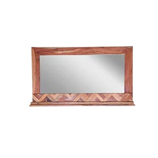 Andover Wooden Wall Mirror For Sale