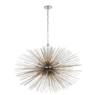 Strada Medium Oval Chandelier For Sale