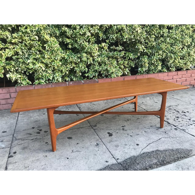 Mid-Century Danish Coffee Table by Dux For Sale - Image 10 of 10