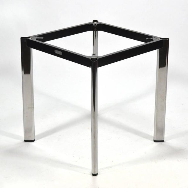 Silver Joe D'urso Table by Knoll For Sale - Image 8 of 10