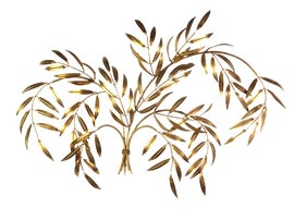 Image of Gold Leaf Wall Accents