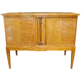 Danish Birch Sideboard For Sale