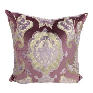Designers Guild Pillow - Lilac, Mauve, Beige For Sale