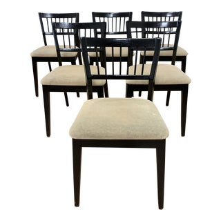 Mid-20th Century Modern Dining Chairs - Set of 6 For Sale