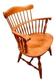 Image of Chestnut Windsor Chairs
