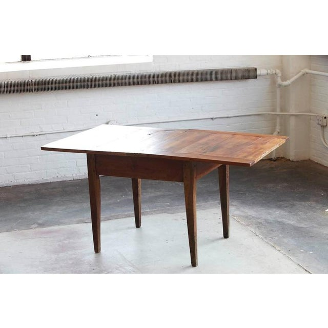 Late 19th Century Late 19th Century Card Table with Tilt Top Mechanism For Sale - Image 5 of 10