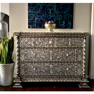 Moorish Mother of Pearl Inlay Chest With Drawers Preview