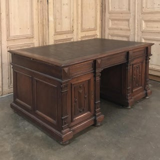 19th Century French Henri II Walnut Partner's Desk Preview
