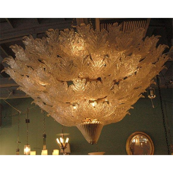 Monumental Murano Chandelier - Image 3 of 8