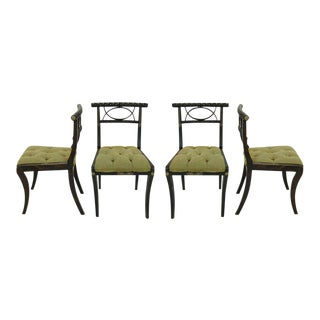 English Regency Dining Chairs - Set of 4