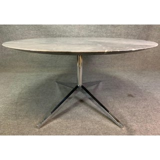 Mid-Century Modern Dining Table in Arabescato Marble by Florence Knoll Preview