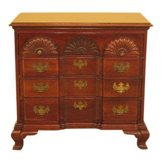 Hickory Blockfront Mahogany Goddard Style Chest For Sale