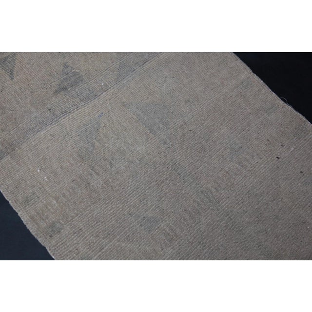 """Textile Wonderful Muted Color Rug - 1'10"""" x 3'5"""" For Sale - Image 7 of 8"""