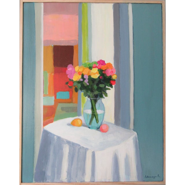 2020s Morning Table by Anne Carrozza Remick For Sale - Image 5 of 5