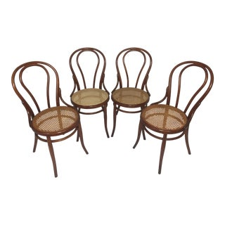 Thonet Style Bentwood Chairs - Set of 4