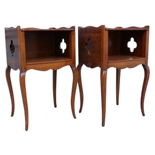 Louis XV Style Bedside Tables - a Pair For Sale