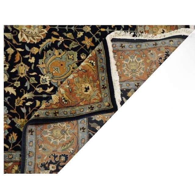 """New Indian Tabriz Design Rug - 7'7"""" x 9'6"""" - Image 4 of 4"""