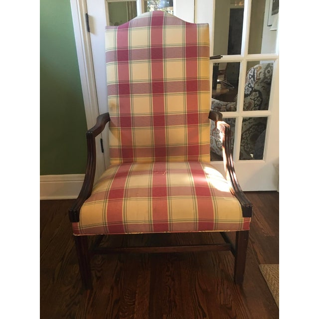 Early 19th Century Vintage Hepplewhite Lolling Chair For Sale - Image 9 of 9