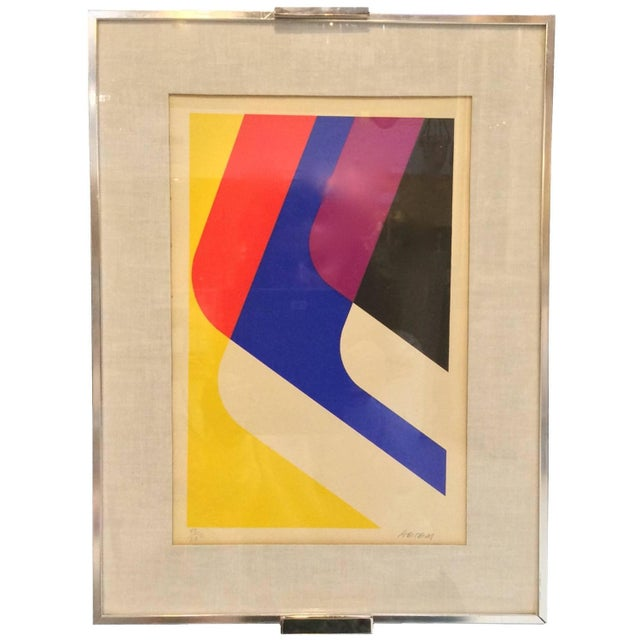 Mid-Century Limited Edition Abstract Graphic Print - Image 2 of 7