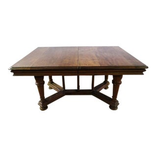 Antique Rectangular Henry IV X-Stretcher French Dining Table For Sale