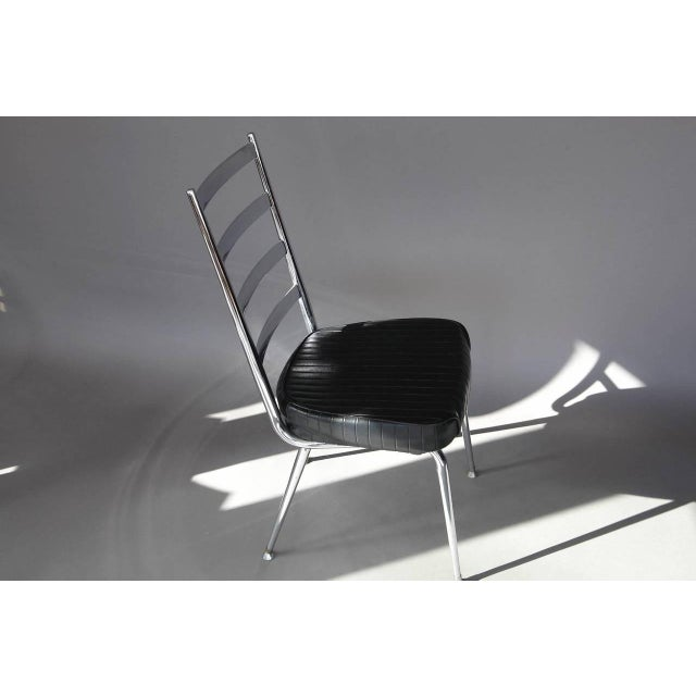 Chromcraft Set of Four Chromecraft Dining Chairs For Sale - Image 4 of 8