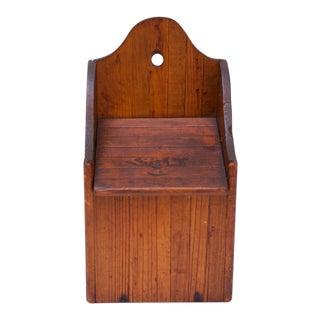 Early Twentieth Century American Hanging Salt Box For Sale