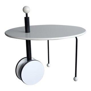 1980s Memphis Michele De Lucchi Side Table For Sale