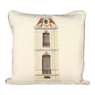 Villa Suburbaine Pillow For Sale