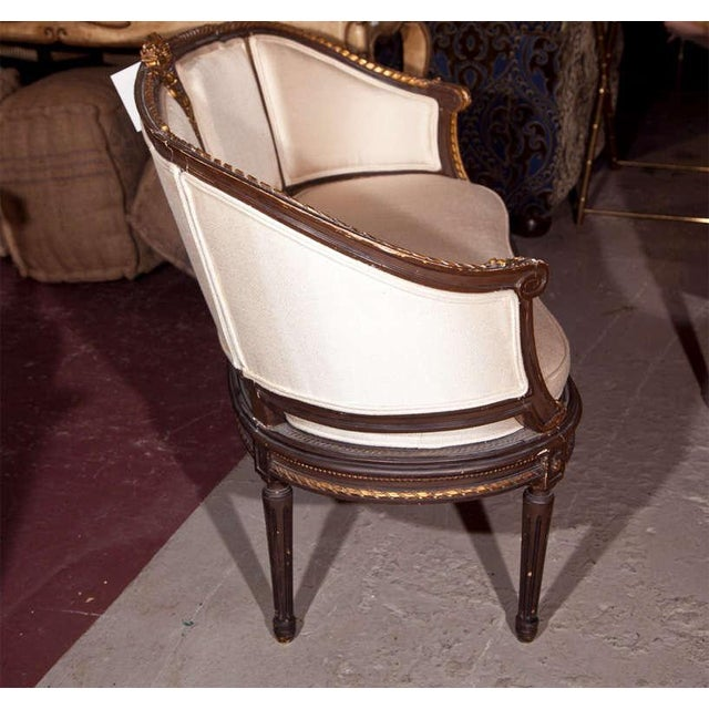 Late 19th Century Louis XVI Canape Signed Guillaume Grohe For Sale - Image 5 of 7