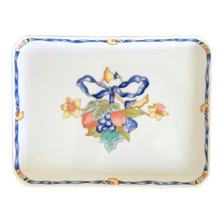 Bernardaud France Borghese Limoges Porcelain Tray For Sale