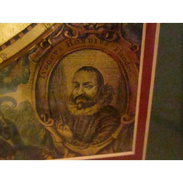 Framed gold foil green matted renaissance world map chairish framed gold foil green matted renaissance world map image 7 of 11 gumiabroncs Images