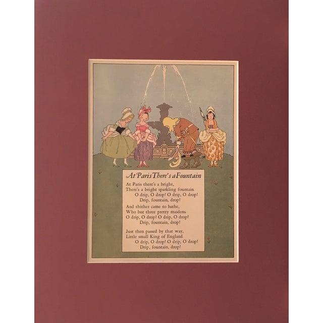 1927 Parisian Children's Illustration - Image 1 of 3