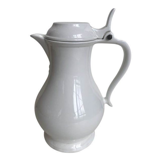 20th Century Red Cliff Ironstone Coffee Pot For Sale