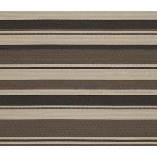 Upholstery Fabric Indoor Outdoor Dune Point Stripe CL Earth by Ralph Lauren For Sale