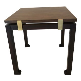 Modern Chaddock Roma Rectangular End Table For Sale