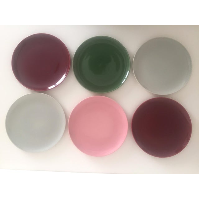 Various Artists Mid Century Modern Universal Ballerina Multicolor Dinnerware - Set of 32 For Sale - Image 4 of 11