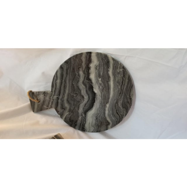 Black Marble Cheese Board For Sale - Image 4 of 6