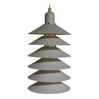 1970s Jorgen Gammelgaard for Fog & Morup Mid-Century Modern Danish Pendant Light For Sale