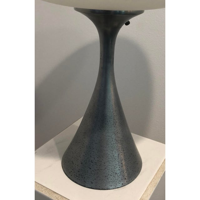 Laurel Mushroom Lamp by Bill Curry For Sale - Image 6 of 7