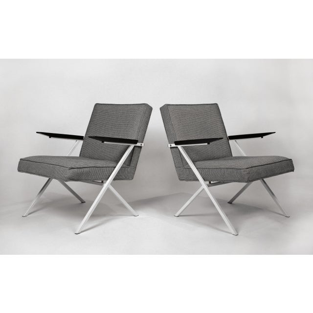 Knoll International Ladislav Rado Cantilevered Lounge Chairs for Knoll and Drake, 1950s For Sale - Image 4 of 10