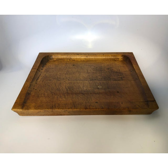 Americana Antique Pastry/Noodle Bread Board For Sale - Image 3 of 6